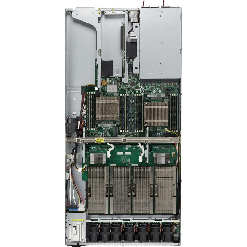 Server Barebone 1U with Dual Intel Xeon E5-2600 v4/v3 Sockets, supporting up to 2TB DDR4 ECC 3DS LRDIMM, up to 2400MHz in 16x 288-pin slots