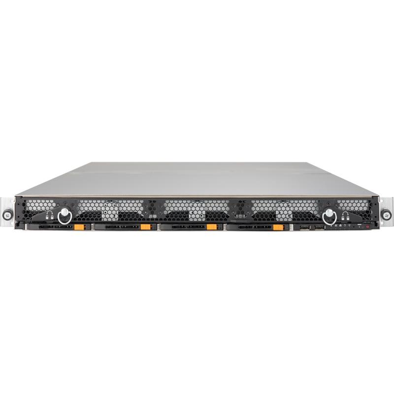 Barebone 1U SuperStorage Server with Dual Intel Xeon Scalable processor Gen. 2, support 12 Hot-Swap 3.5in SAS3/SATA3 drives, 2x 10GBase-T