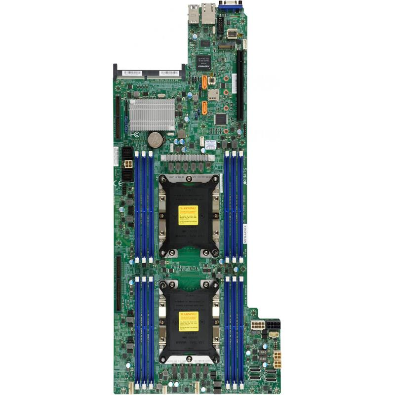 Server 4U Rackmount FatTwin with 4 Systems (Nodes) - Each Node Supports : Up to two Intel Xeon Scalable Processors Gen. 2
