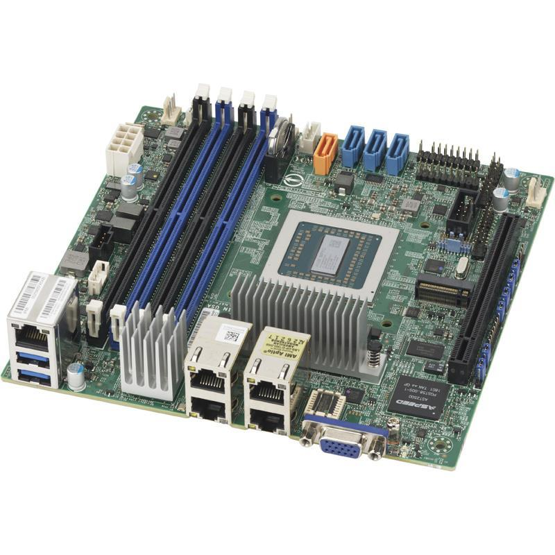 Motherboard Mini-ITX with Embedded Singl