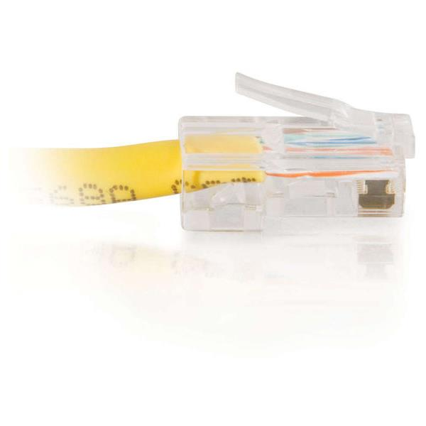 25FT CAT5e Cable Assembly - Yellow