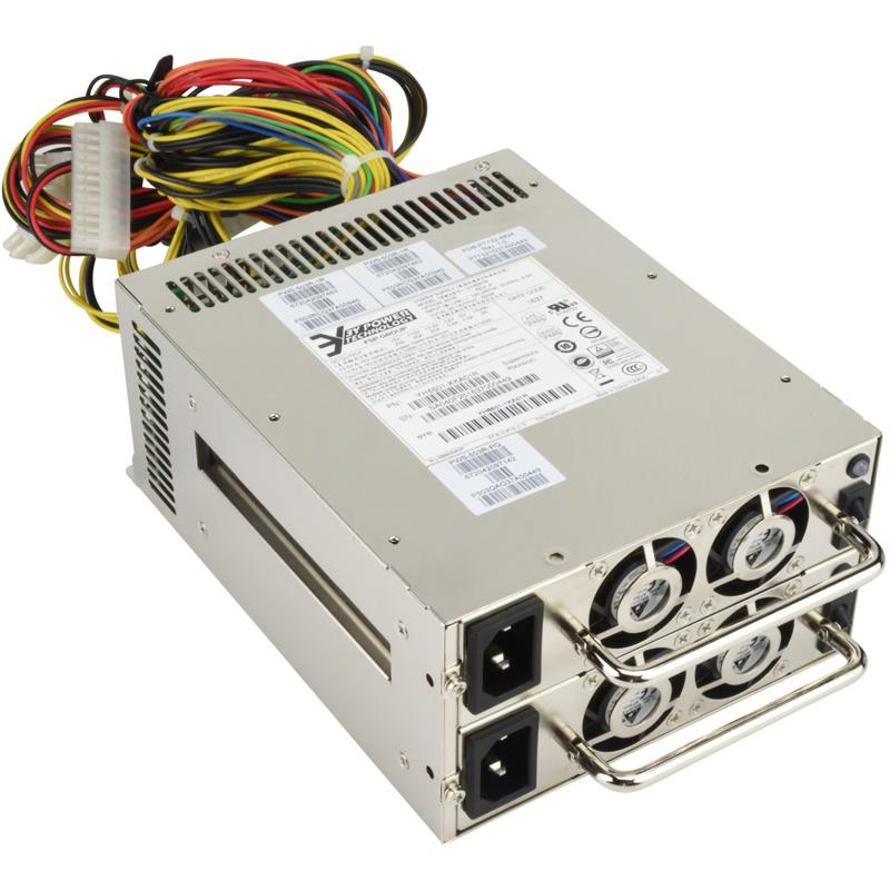 Power Supply PS2 500W redundant set (2 modules, with housing)