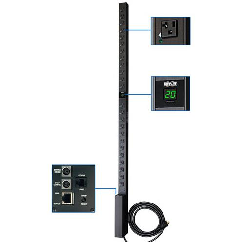 Switched Metered 24-Outlets PDU
