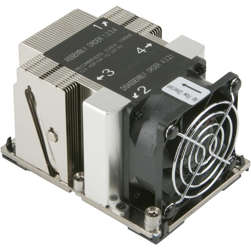 2U Active X11 Purley CPU Heat Sink Socket LGA 3647 for Intel Xeon Scalable Processors
