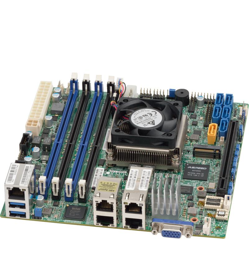 Supermicro SYS-5028D-TN4T-BUNDLE1 Mini-Tower Embedded Intel Processor Barebone