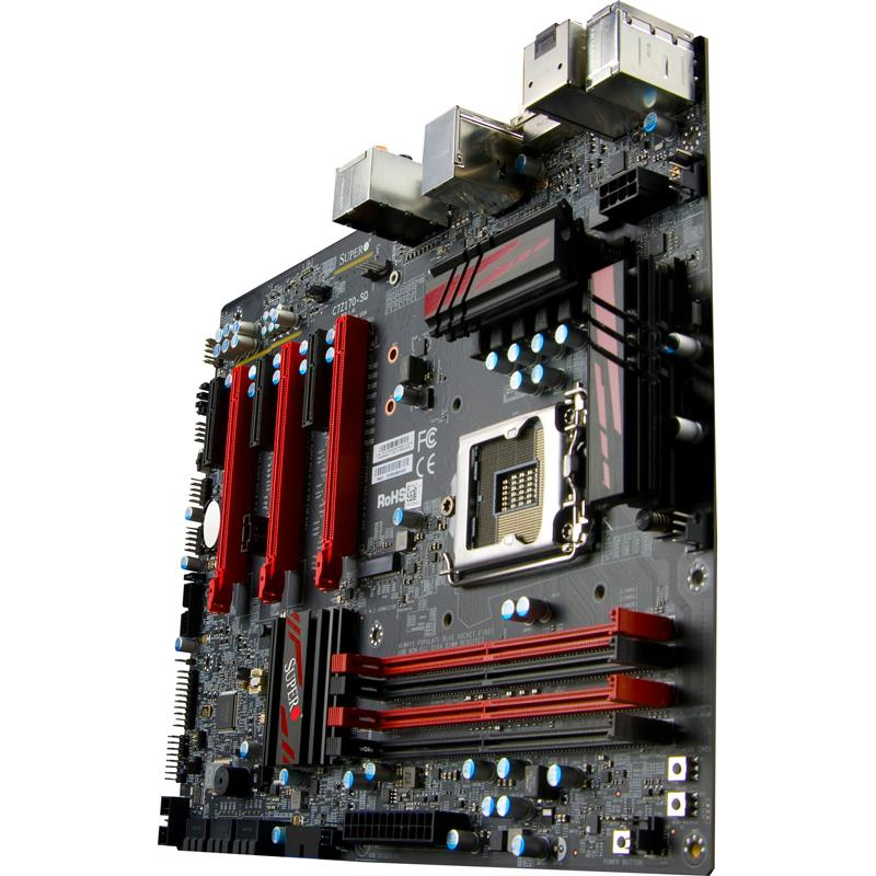 Supermicro C7Z170-SQ Motherboard for 6th Gen Core i7/i5/i3