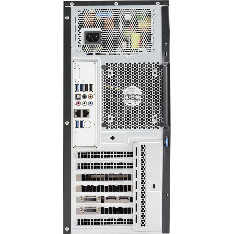 Barebone Mid-Tower Intel C612 Express Chipset for Dual Intel Xeon E5-2600 v4/v3 family processors