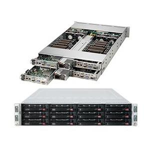 Server Rackmount 2U TwinPro2 with Four Systems (Nodes) - Per Node : Socket 2011 R3 for Dual Intel Xeon E5-2600 v4/v3 family processors