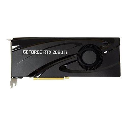 PNY VCG2080T11BLMPB GeForce RTX 2080 Ti Blower Graphic Card - 11GB GDDR5X - Dual Slot Space Required