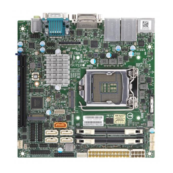 Supermicro X11SCV-Q Motherboard Mini-ITX Single Socket H4 (LGA 1151) for Intel 8th Generation Intel Core Processors - supports up to 32GB Unbuffered non-ECC DDR4-2666Mhz SODIMM in 2 memory slots