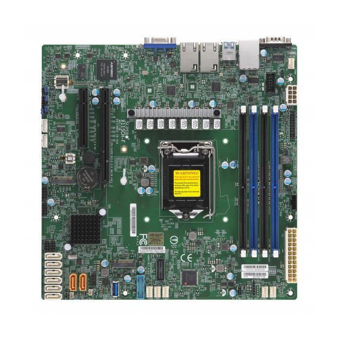 Supermicro X11SCH-F Motherboard Micro-ATX Single Socket H4 (LGA 1151) for Intel 8th Generation Intel Core, Intel Xeon E-2100 Processors - supports up to 128GB Unbuffered ECC DDR4-2666Mhz UDIMM in 4 memory slots