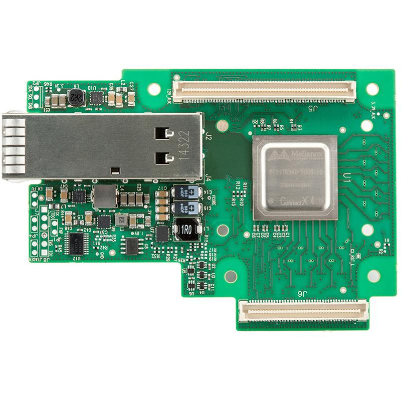 Mellanox MCX4411A-ACAN ConnectX-4 Lx EN network interface card for OCP, 25GbE 1-port SFP28, PCI-E 3.0 x8, no bracket, ROHS R6