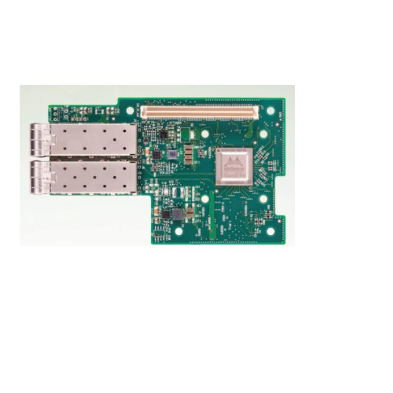 Mellanox MCX4421A-ACQN ConnectX-4 Lx EN network interface card for OCP with Host Management, 25GbE 2-port SFP28, PCI-E 3.0 x8, no bracket, ROHS R6