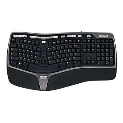 Microsoft 5QH-00001 Natural Ergo Keyboard 4000 for Business