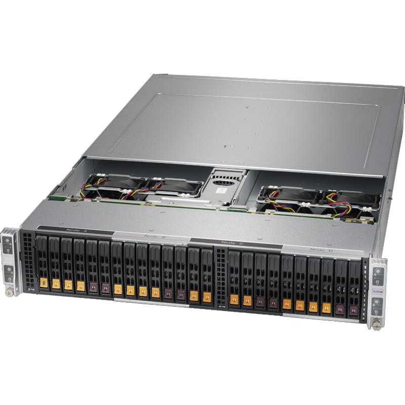 Supermicro SYS-2028BT-HTR+ Twin Barebone Dual CPU, 4-Node