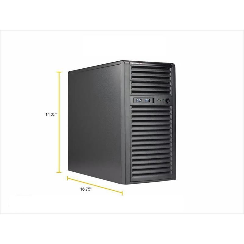 Supermicro SYS-5039C-I Mid Tower Barebone Single Processor