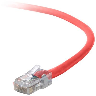 Belkin A3L791-30-RED 30FT Patch cable - RJ-45 (M) - RJ-45