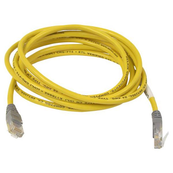 Belkin A3X126-10-YLW-M 10FT Crossover cable - RJ-45 (M) -
