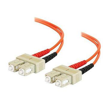 Cables To Go 33002 6.6FT (2M) Patch cable - SC multi-mode