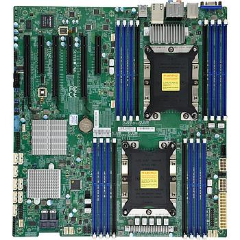 Supermicro X11DAC Motherboard E-ATX Intel C621 Chipset Dual Socket P (LGA 3647) for Intel Xeon Scalable Processors Gen.2