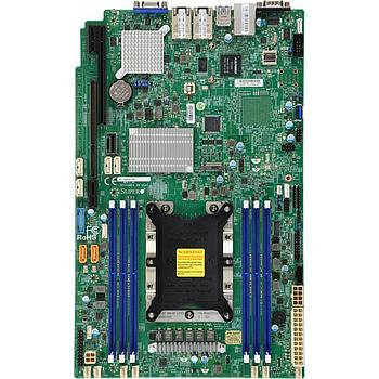 Supermicro X11SPW-TF-O Motherboard Intel Xeon Processor Scalable Gen.2 Family Intel C622 chipset Single Socket P, Up to 1.5TB ECC 3DS LRDIMM 2933MHz, 6x DIMM slots, 2 x 10GbE LAN ports, 10 x SATA3 (6Gbps)