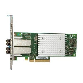 QLogic QLE2742-SR-CK Dual Port QLE2742 32Gb FC HBA, PCIe Gen6 x8, SR LC multi-mode optic