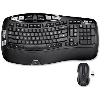 Logitech 920-002555 Wireless Wave Combo MK550 Keyboard/Mouse