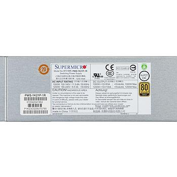 Supermicro PWS-1K21P-1R 1U 1200W high-efficiency power supply