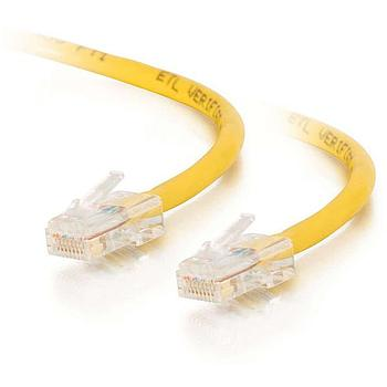 Cables To Go 26696 25FT CAT5e Cable Assembly - Yellow